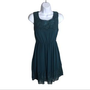 AngelEye Teal Dress Size S
